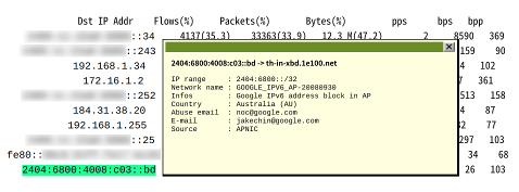 FreeBSD - NfSen - Details - Bottom - 2